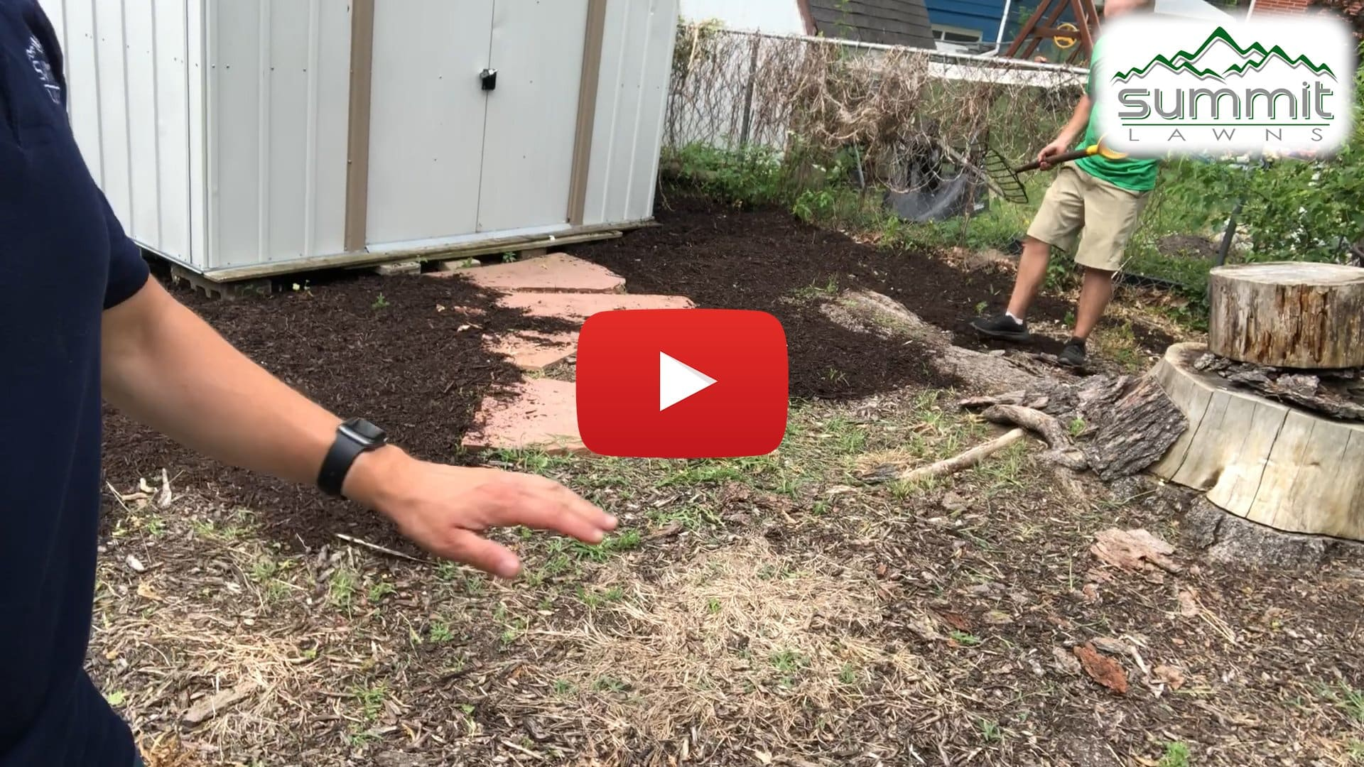 Lincoln Mulch Installation Tip